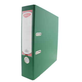 BIBLIORAFT PLASTIFIAT 75 MM DACO VERDE_BP175V